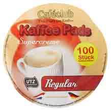 Caféclub Kaffeepad