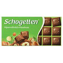 Schogetten Schokolade mit Nüssen