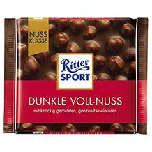Ritter Sport Schokolade mit Nüssen