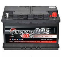 BlackMax Autobatterie