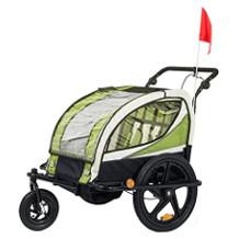 SAMAX Kinder-Fahrradanhänger