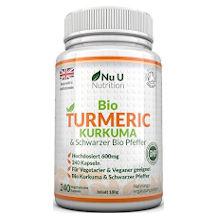 Nu U Nutrition Kurkuma-Kapsel