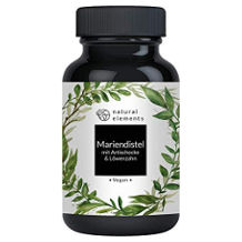natural elements Mariendistel-Kapsel