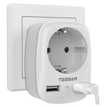 TESSAN USB-Steckdose