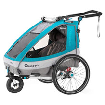 Qeridoo Kinder-Fahrradanhänger