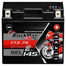BlackMax Motorradbatterie