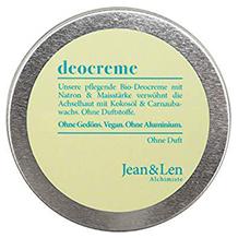 Jean & Len Deodorantcreme