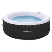 Arebos aufblasbarer Whirlpool