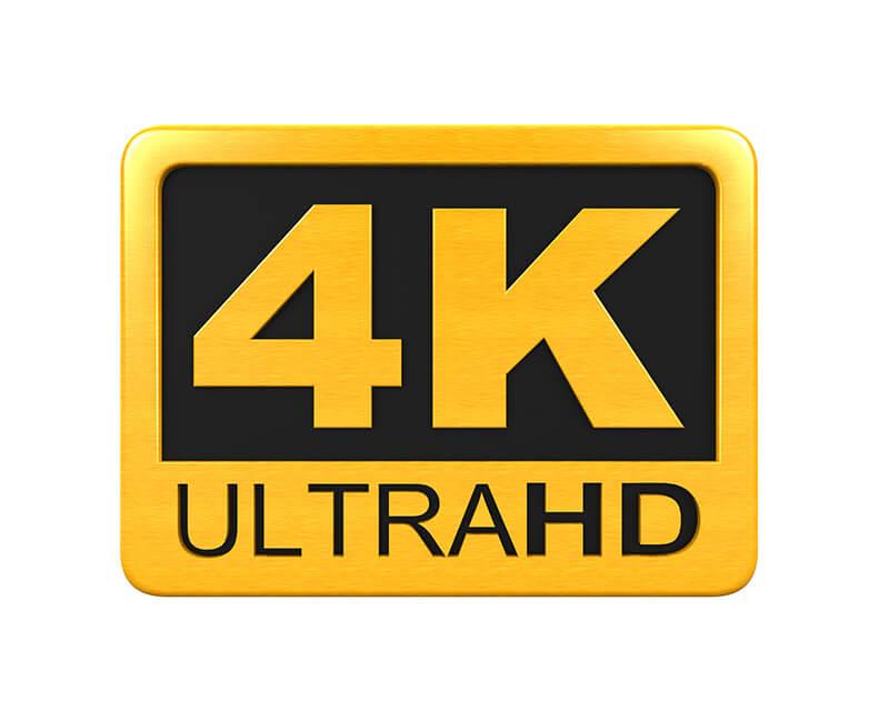4K UltraHD Icon