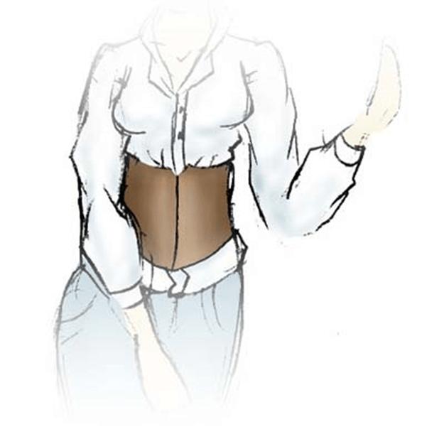 Taillenkorsett