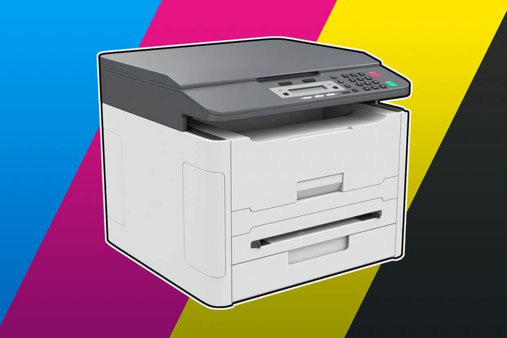 freigestellter A3-Drucker