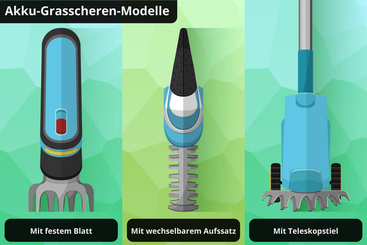akku_grasschere-verschiedene_modelle