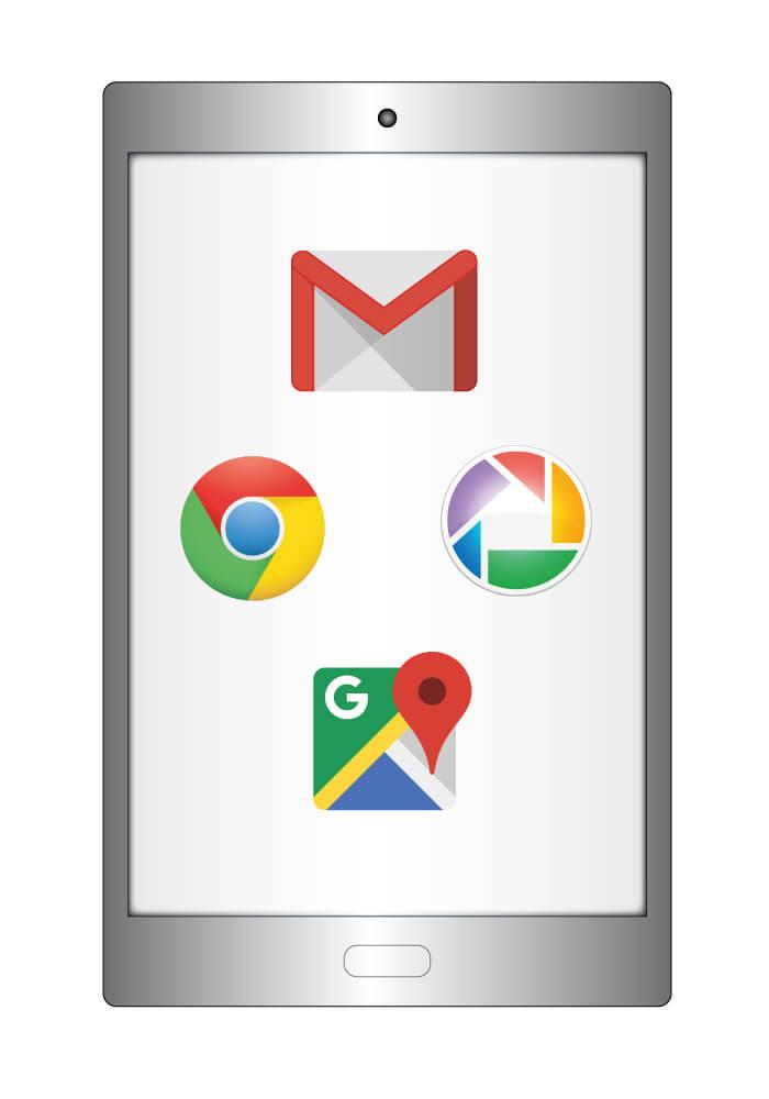 Google Apps fürs Tablet