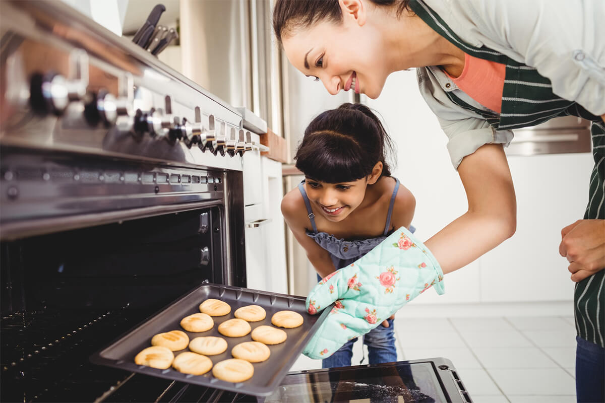 Cookies im Backofen