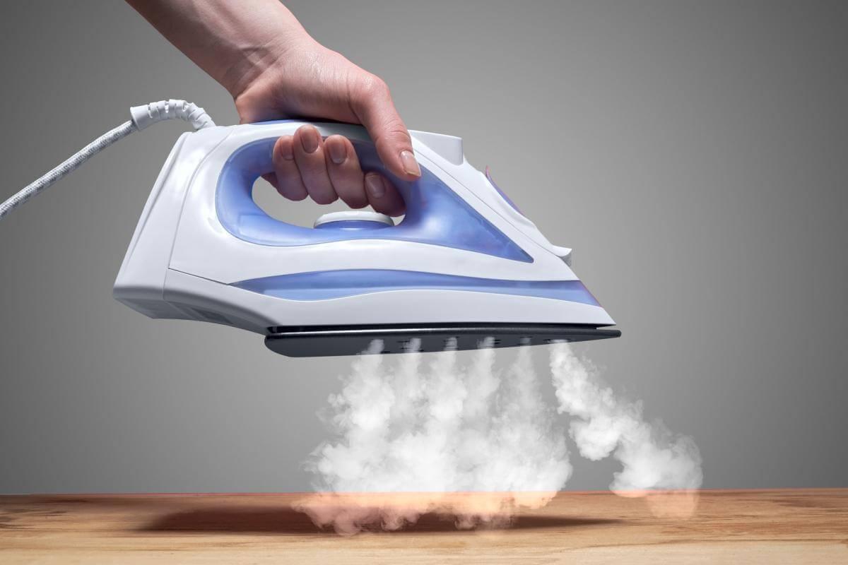 Mit Dampf bügeln
