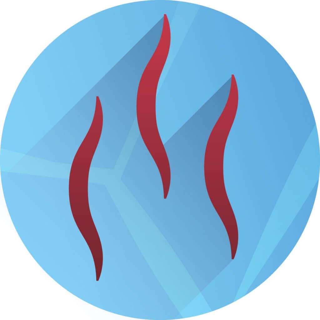 Heizleistung - Icon