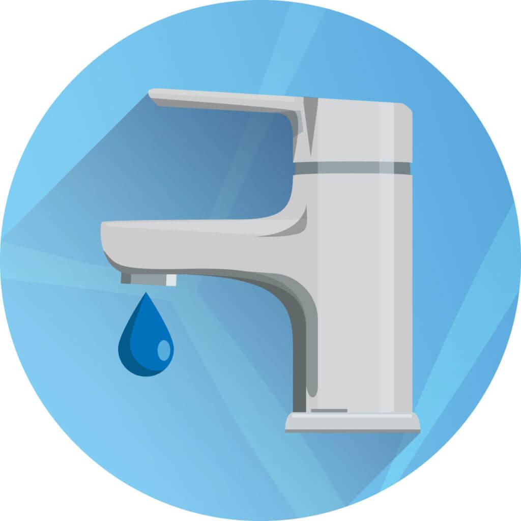 Wasserversorgung Icon