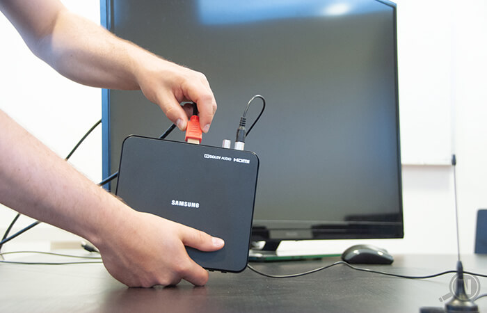 HDMI an Fernseher