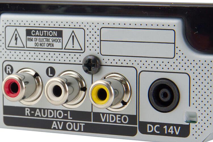 Audioanschlüsse