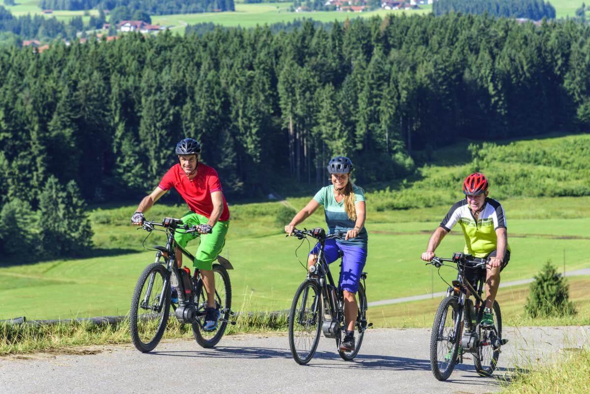 E-Bike bergauf