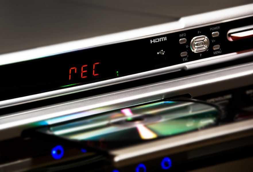 Festplattenrecorder mit DVD-Player