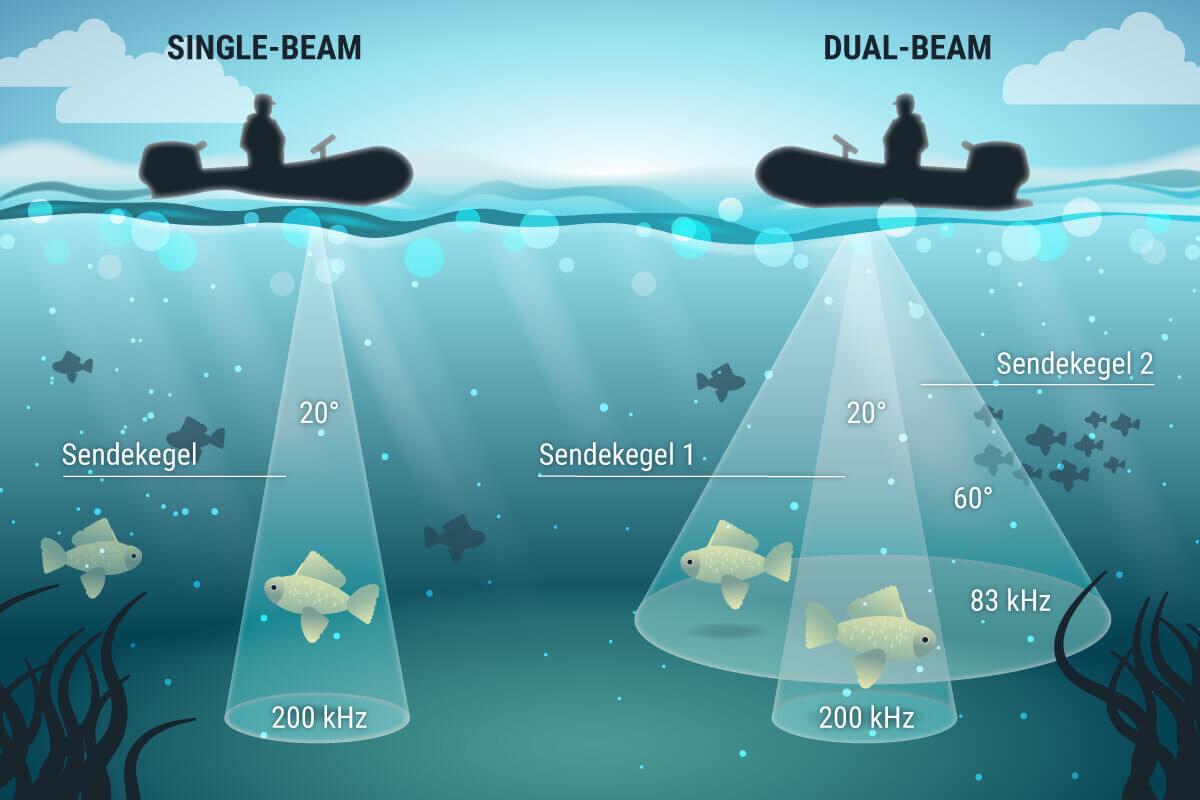Vergleich von Single und Dual Beam