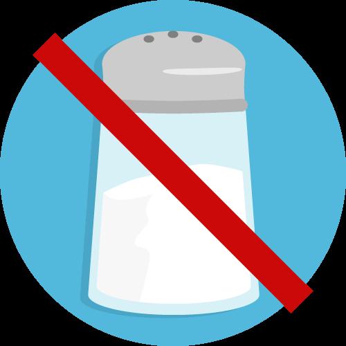 Nicht salzen