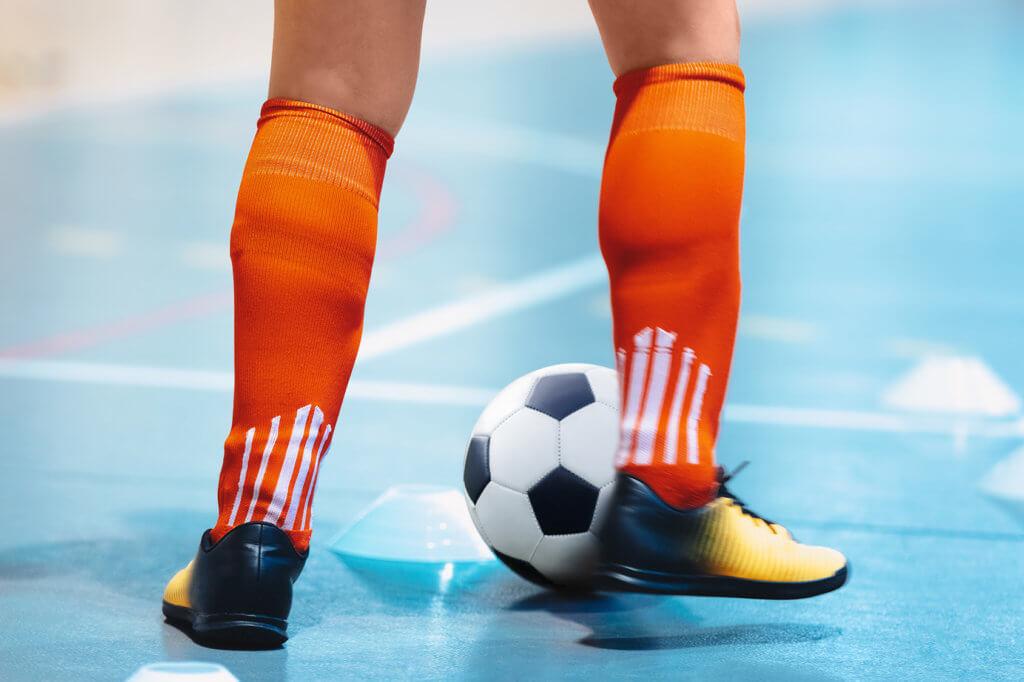 Fußballtraining in Halle