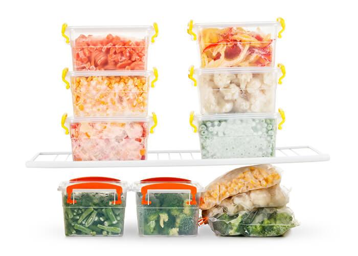 Eingefrorenes Essen