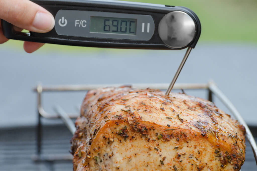 Grillthermometer mit Display