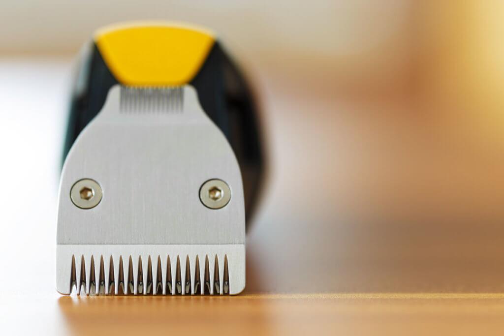 Nahaufnahme eines Haarschneiders