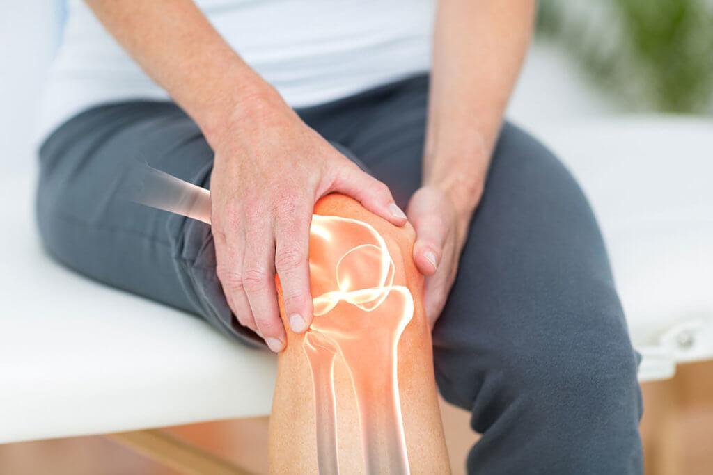 schmerzendes Knie