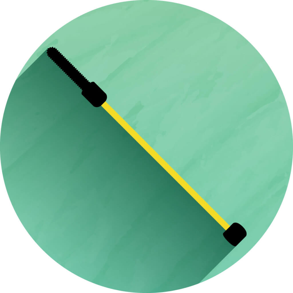 Teleskopstab - Icon