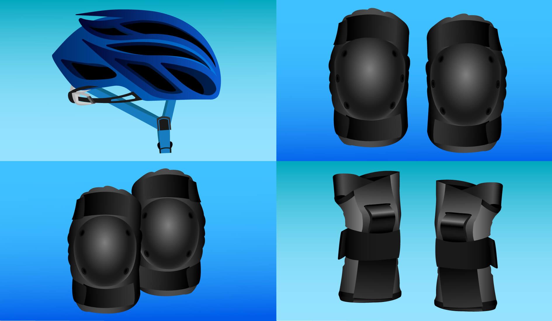 Schoner und Helm