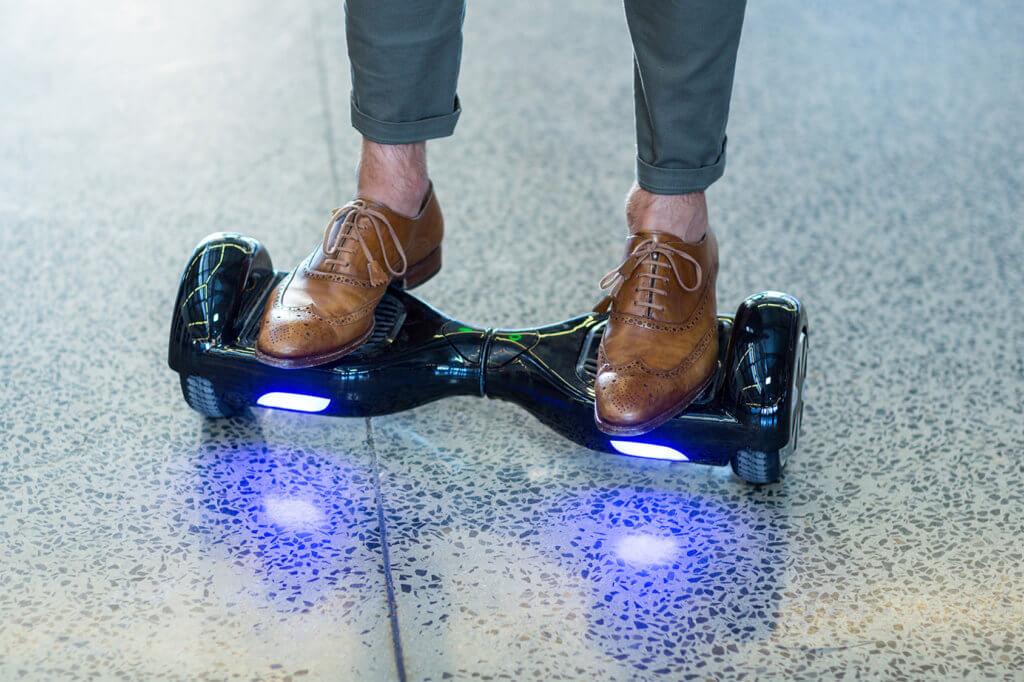 beleuchtetes Hoverboard