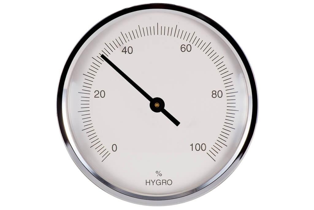 Hygrometer freigestellt