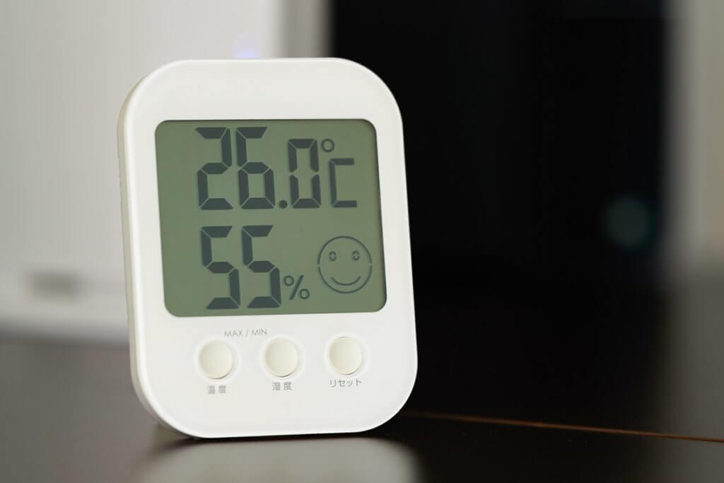 Indoor-Thermometer mit Feuchtigkeitsmesser