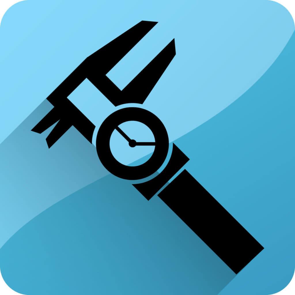 Messgenauigkeit - Icon