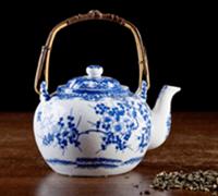 Teekanne Perzellan
