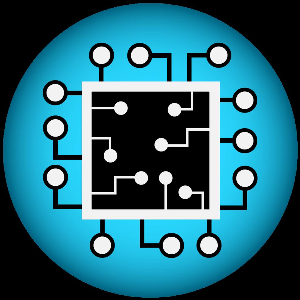 Ein-Chip-System - Icon