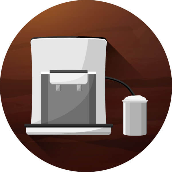 kaffeekapselmaschine milchaufschäumer