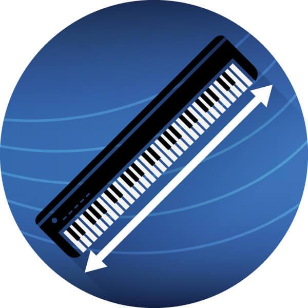 keyboard icon grafik maße laenge