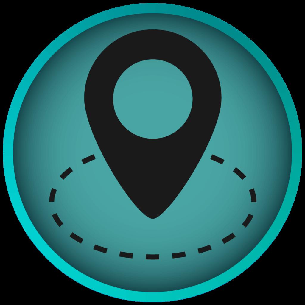 Icon zu Geofencing