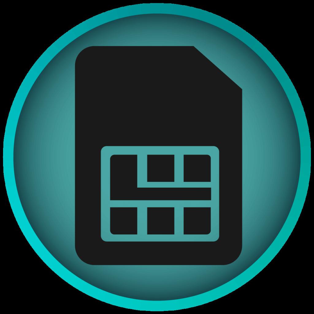 Icon zu SIM-Karte