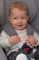 Kindersitz mit Hosenträgersystem
