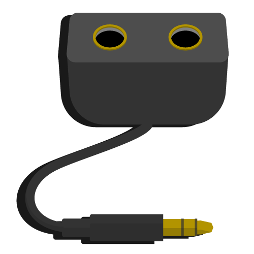 Audio-Splitter Grafik