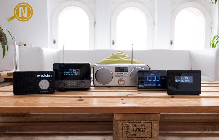 verschiedene Digitalradios