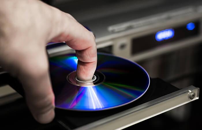 Disc einlegen