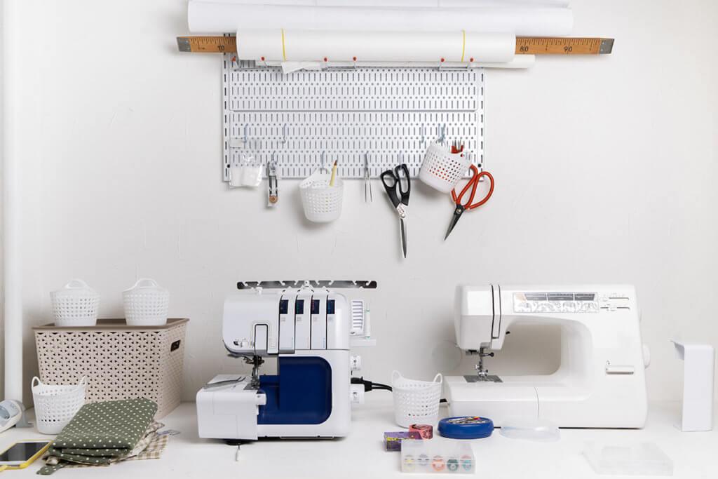 Naehmaschine und anderes Werkzeug