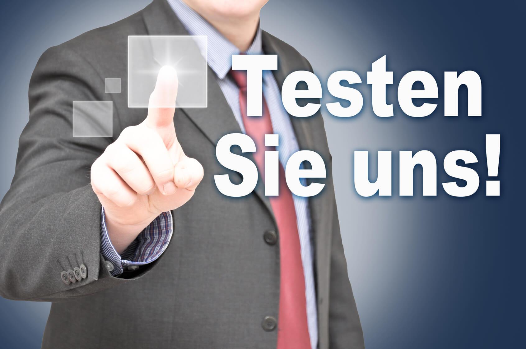 Passwort Manager testen